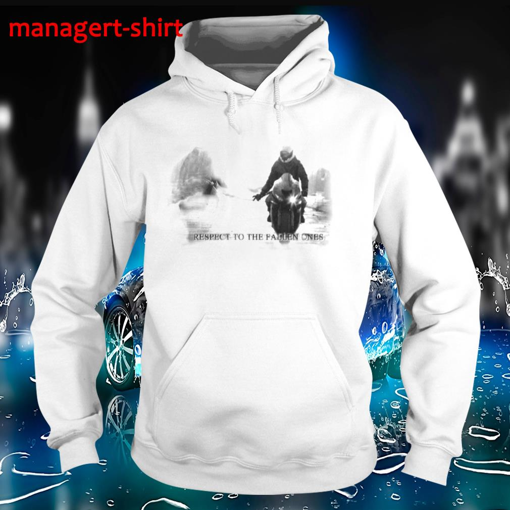 Respect to the fallen ones superbike lover Hoodie