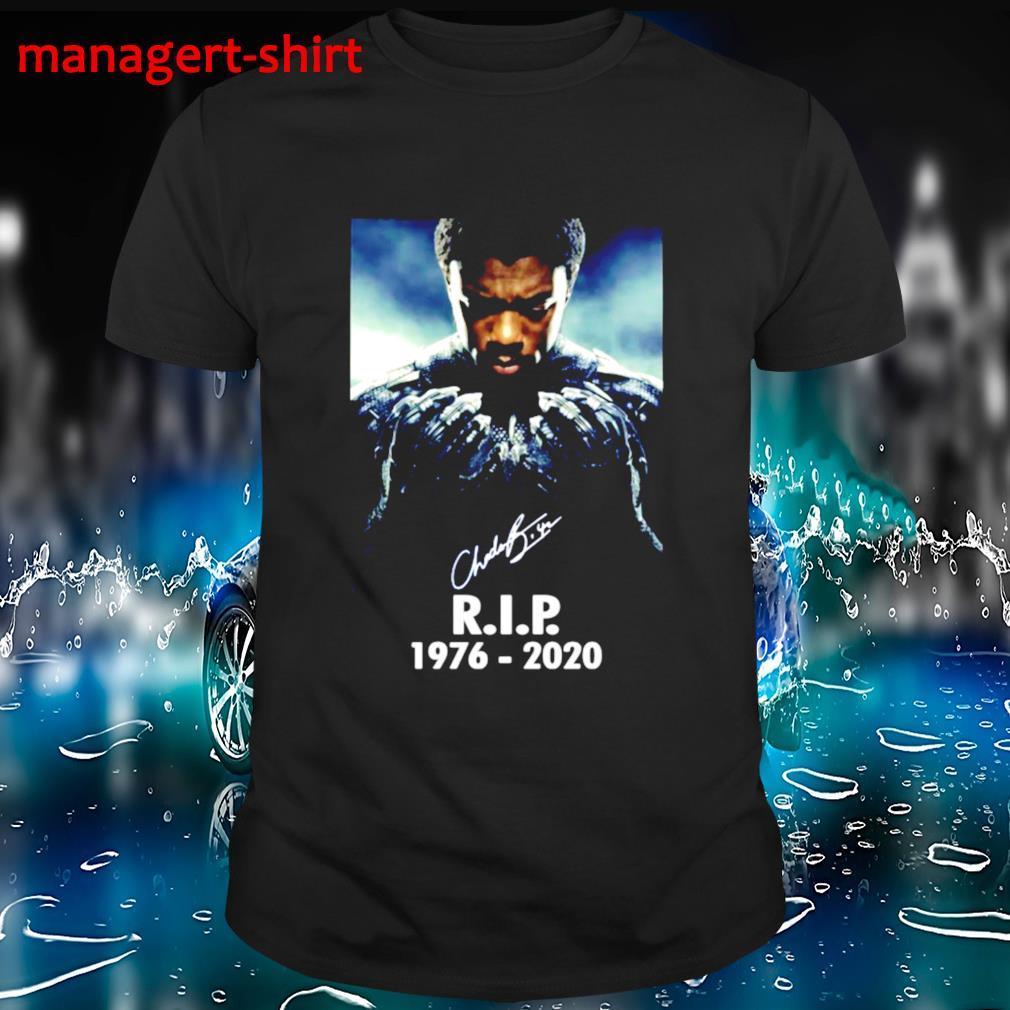 Chadwick Boseman Black Panther RIP shirt
