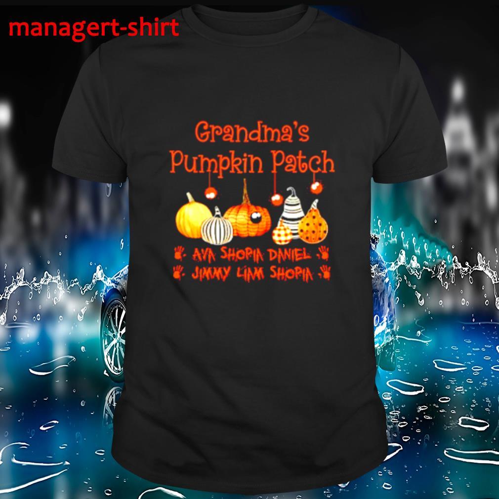 Halloween Grandma's pumpkin patch shirt