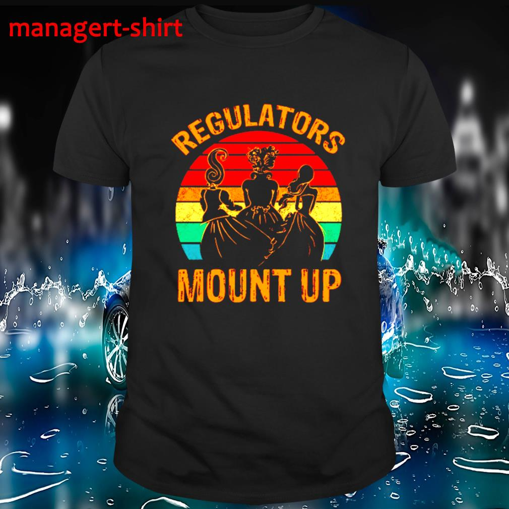Regulators mount up vintage shirt
