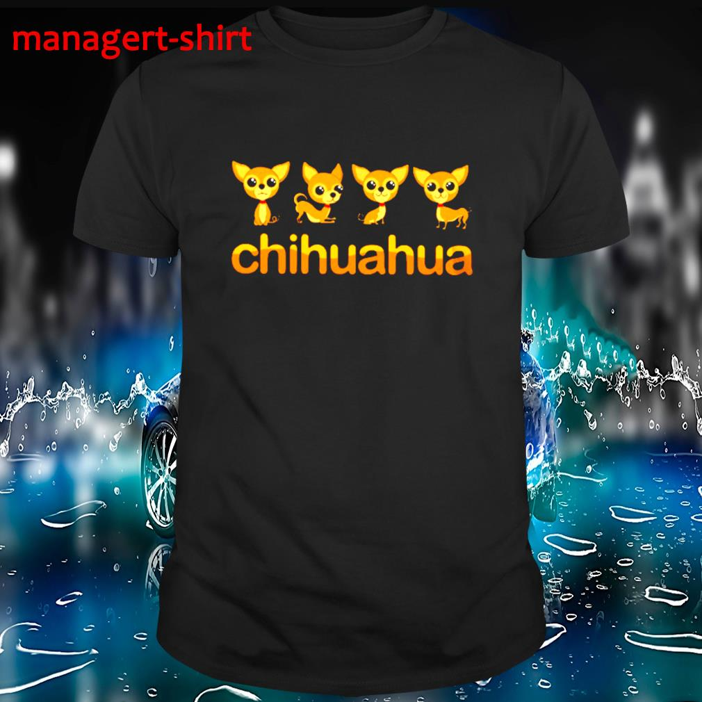 Chihuahua Puppy in action shirt