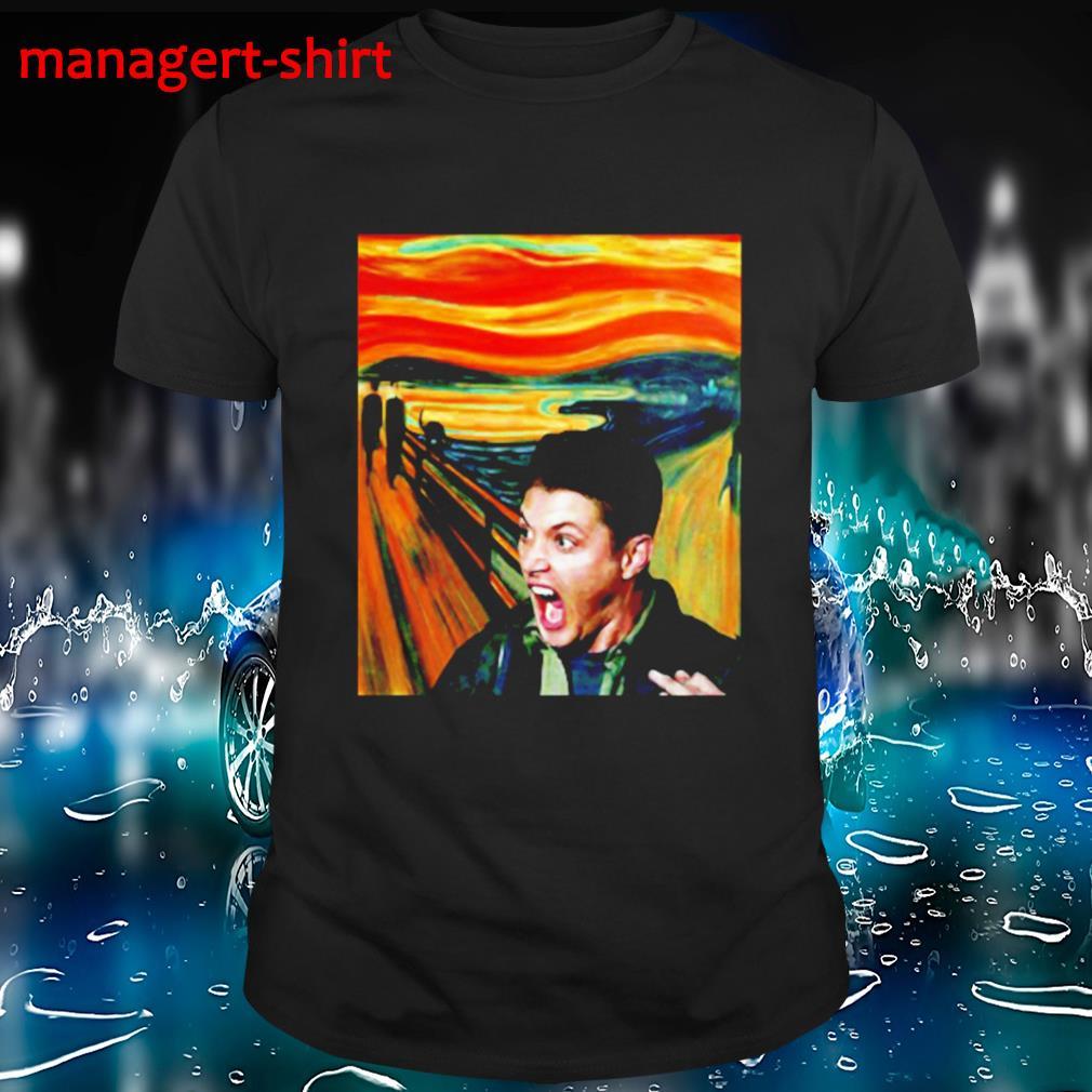 Dean Winchester scream painting shirt