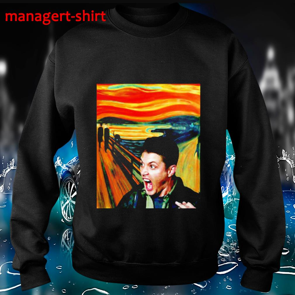 Dean Winchester scream painting s Sweater