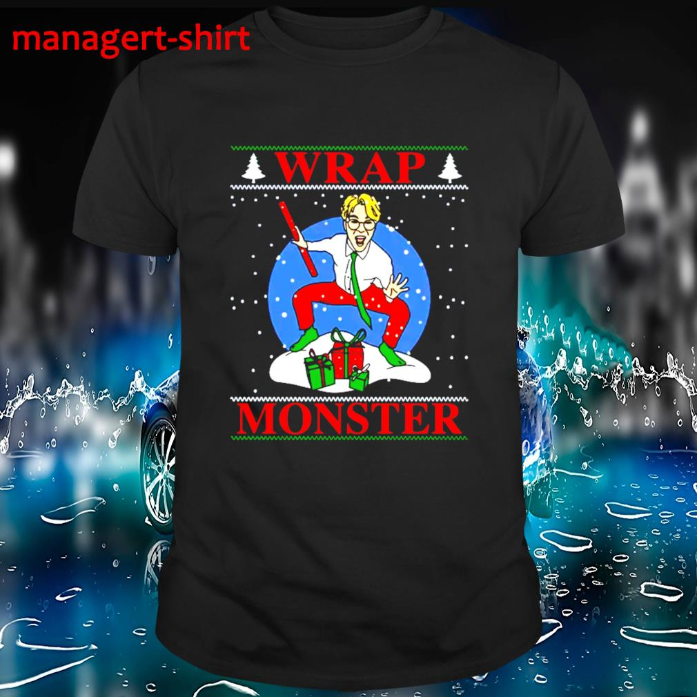 Wrap Monster Kpop Christmas shirt